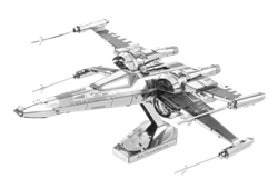 Metal Earth Star Wars Poe Damerons X-Wing Fighter Model akit