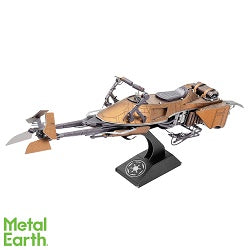Metal Earth Star Wars Speeder Bike Model Kit