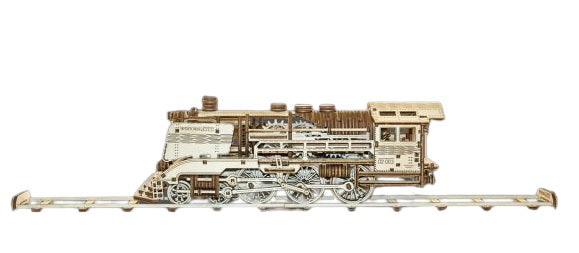 Wooden City Express with Rails
