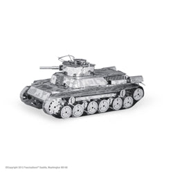 metal earth Chi Ha tank model Kit