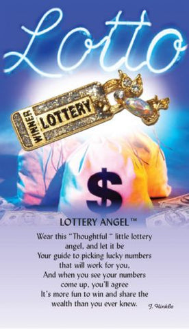 lottery Guardian Angel Pin