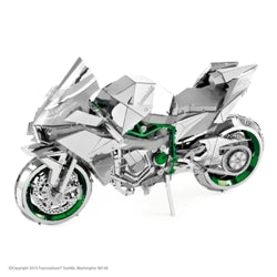 Iconx Kawasaki Ninja H2R Metal Earth kit