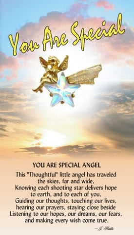 You Are Special Guardian Angel Pin