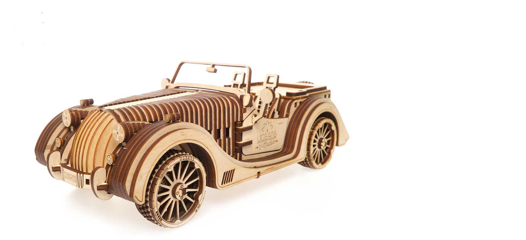Ugears Roadster VM-01Model Kit