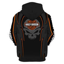 Load image into Gallery viewer, Harley-Davidson 3D Printed Hooded Pocket Pullover Hoodie