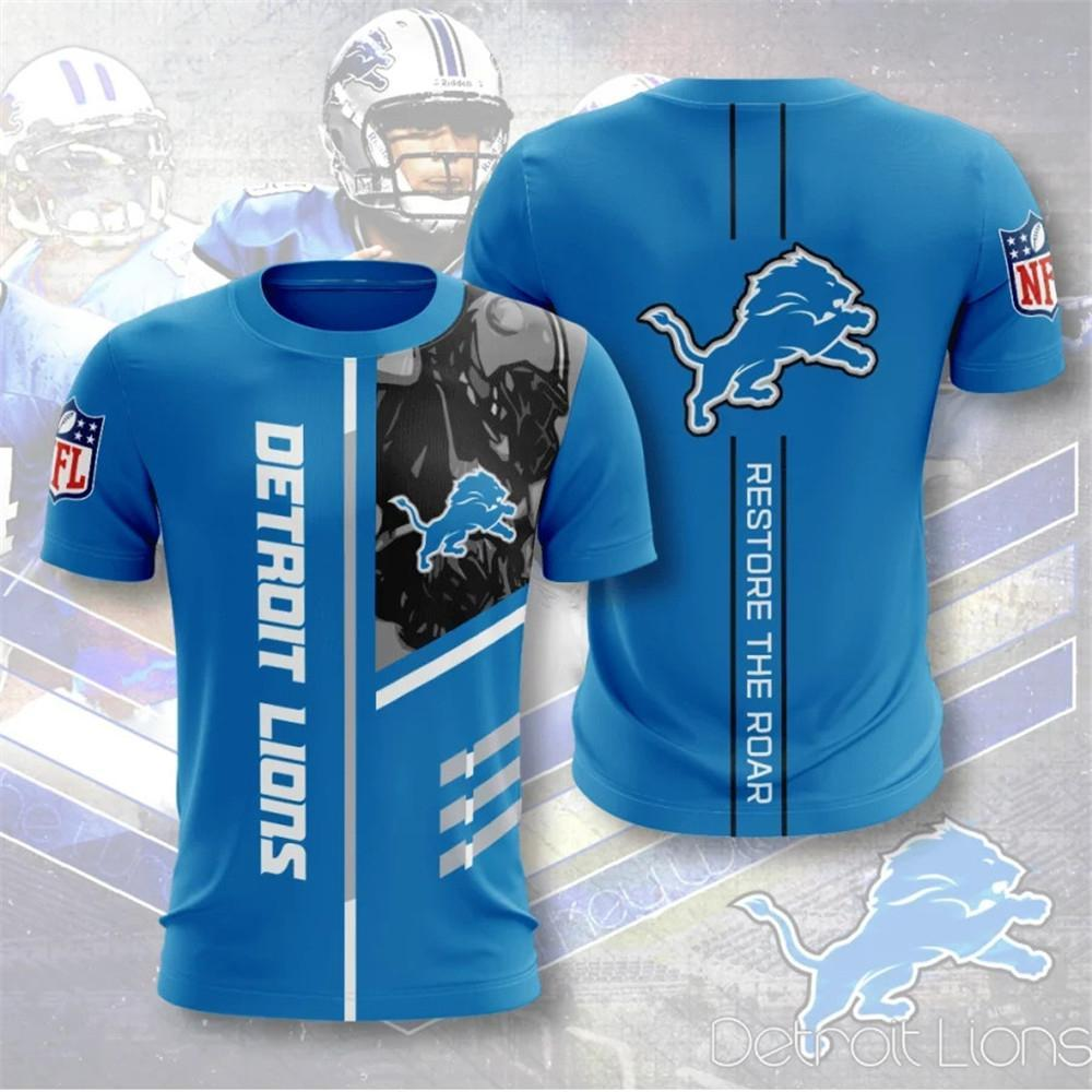 Detroit Lions Short Sleeve T Shirt