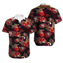 Load image into Gallery viewer, San Francisco 49ers Button Up Tee Shirt