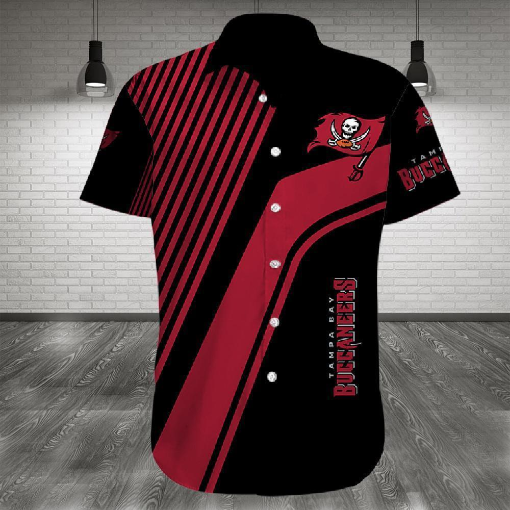 Tampa Bay Buccaneers Button Up Tee Shirt