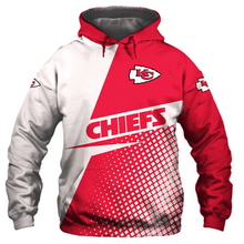 Load image into Gallery viewer, Kansas City Chiefs 3D Printed Hooded Pocket Pullover Hoodie