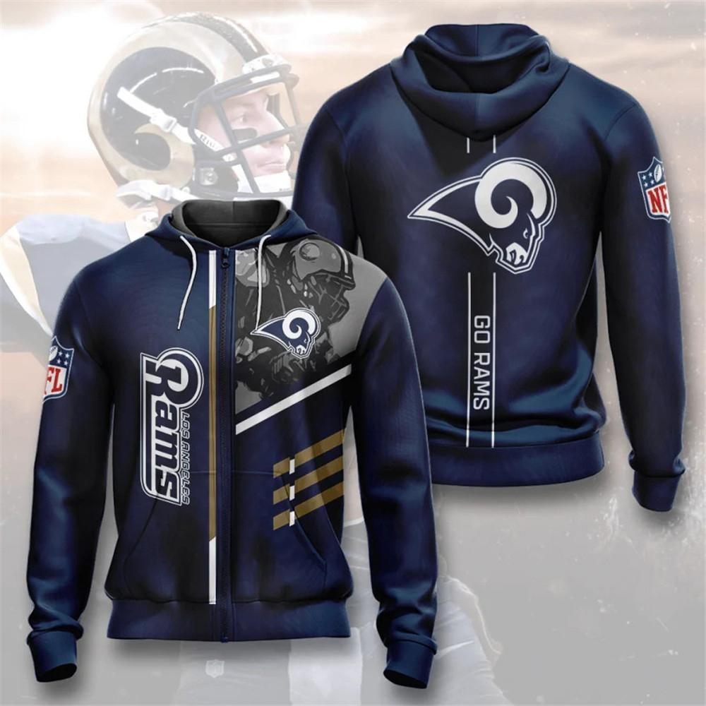 Los Angeles Rams Zip-Up Hoodie
