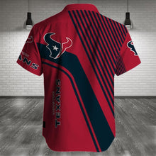 Load image into Gallery viewer, Houston Texans Button Up Tee Shirt