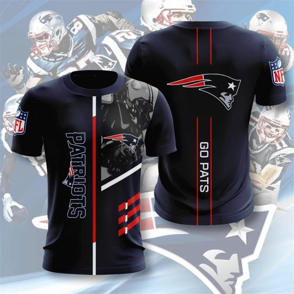 New England Patriots Short Sleeve T Shirt