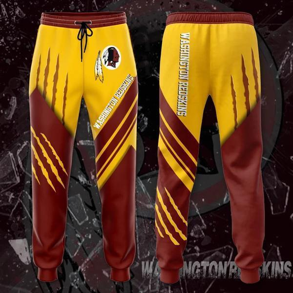 Washington Redskins 3D Printed pocket Sweatpant