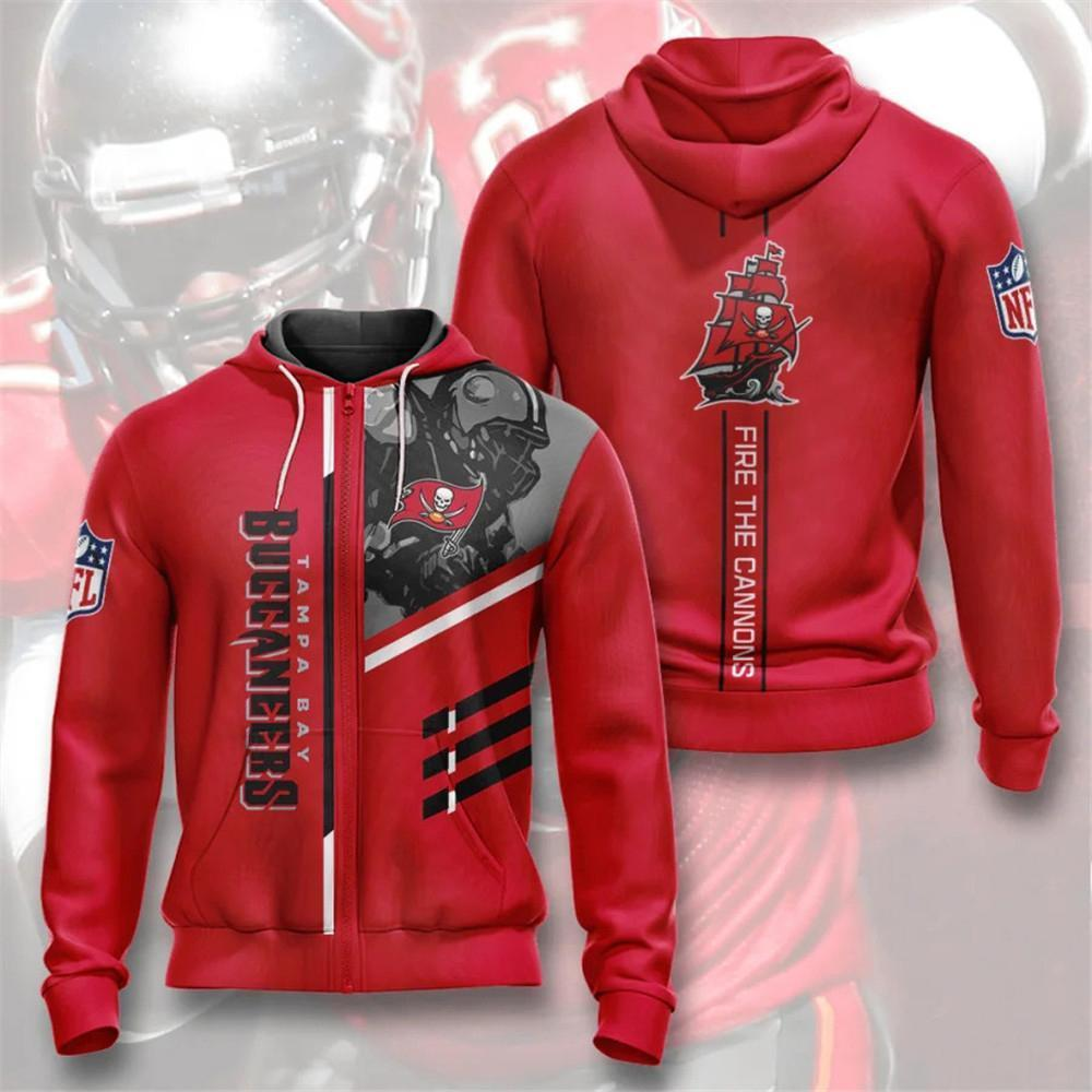 Tampa Bay Buccaneers Zip-Up Hoodie