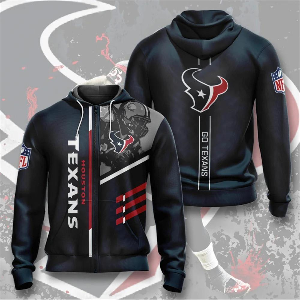 Houston Texans Zip-Up Hoodie