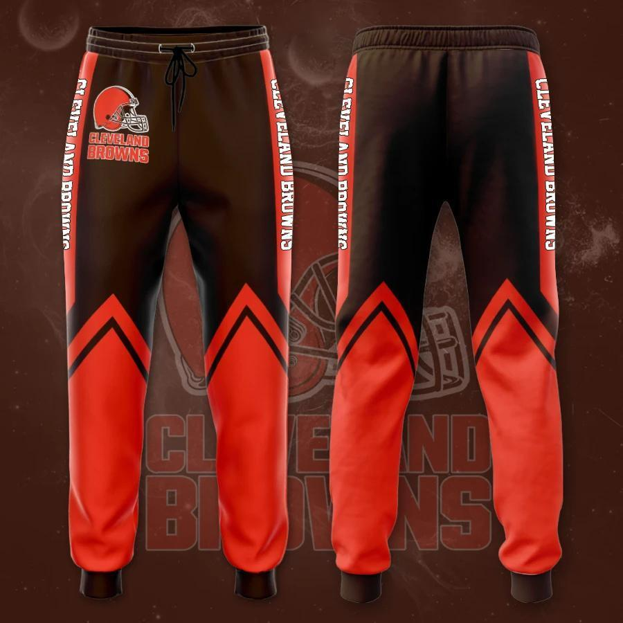 Cleveland Browns 3D Printed pocket Sweatpant