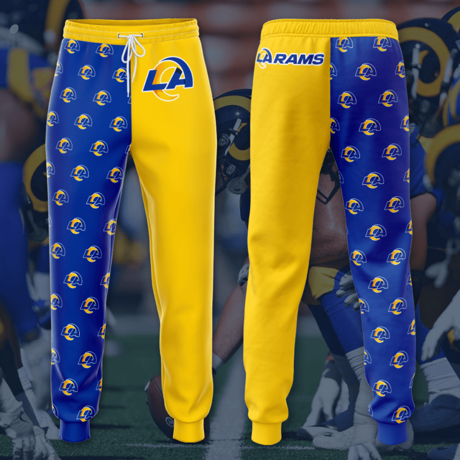 Los Angeles Rams 3D Printed pocket Sweatpant