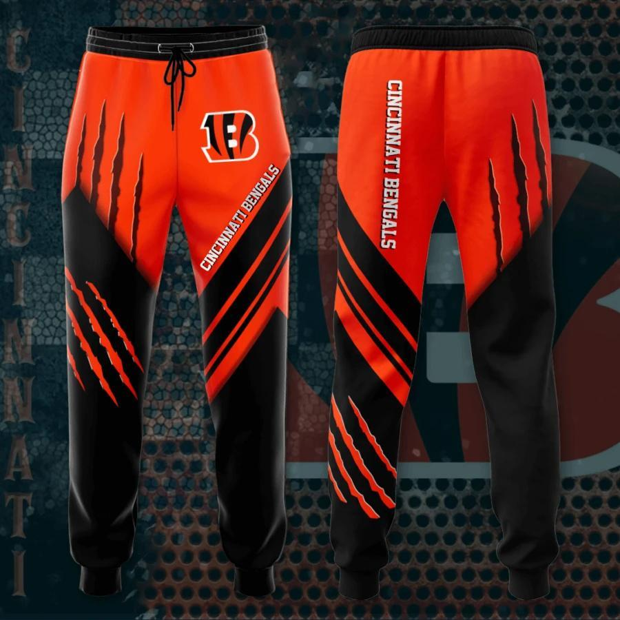 Cincinnati Bengals 3D Printed pocket Sweatpant