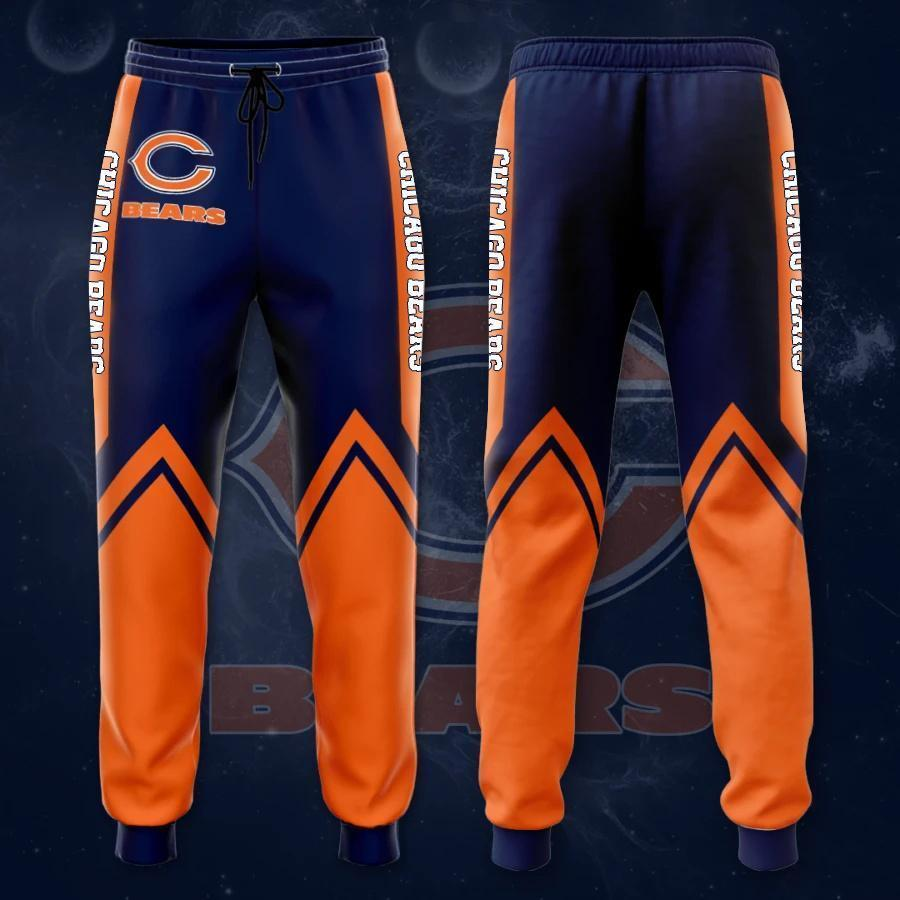 Chicago Bears 3D Printed pocket Sweatpant