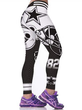 Load image into Gallery viewer, 3D Dallas Cowboys 82 Printed Leggings
