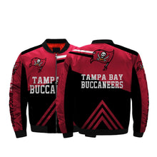 Load image into Gallery viewer, NFL Jacket Men Print 3D Tampa Bay Buccaneers Bomber Jacket For Sale