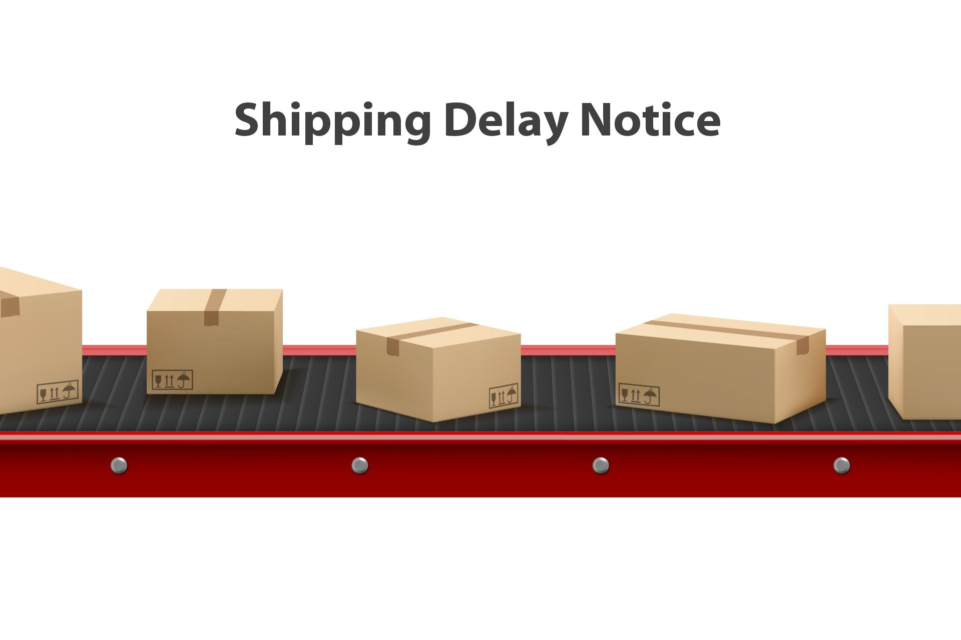 Shipping Delay Notice Update