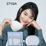 ETIQA KF94 Round Basic Mask White Medium Size - 100pcs - Be Healthy USA