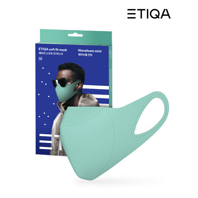 ETIQA Soft Fit (REUSABLE) - Mint / Medium