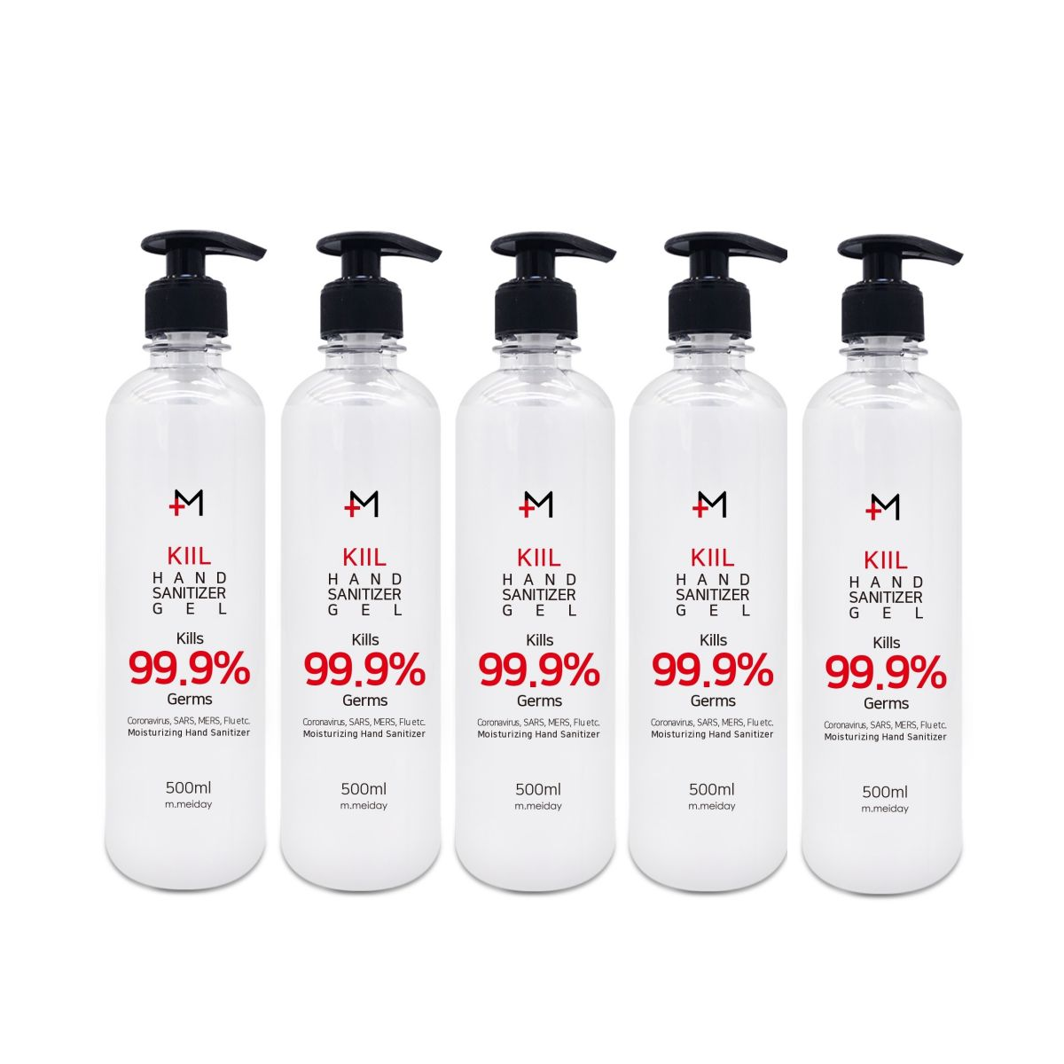 M.KILL Hand Sanitizer Gel 5 Bottles - Be Healthy USA