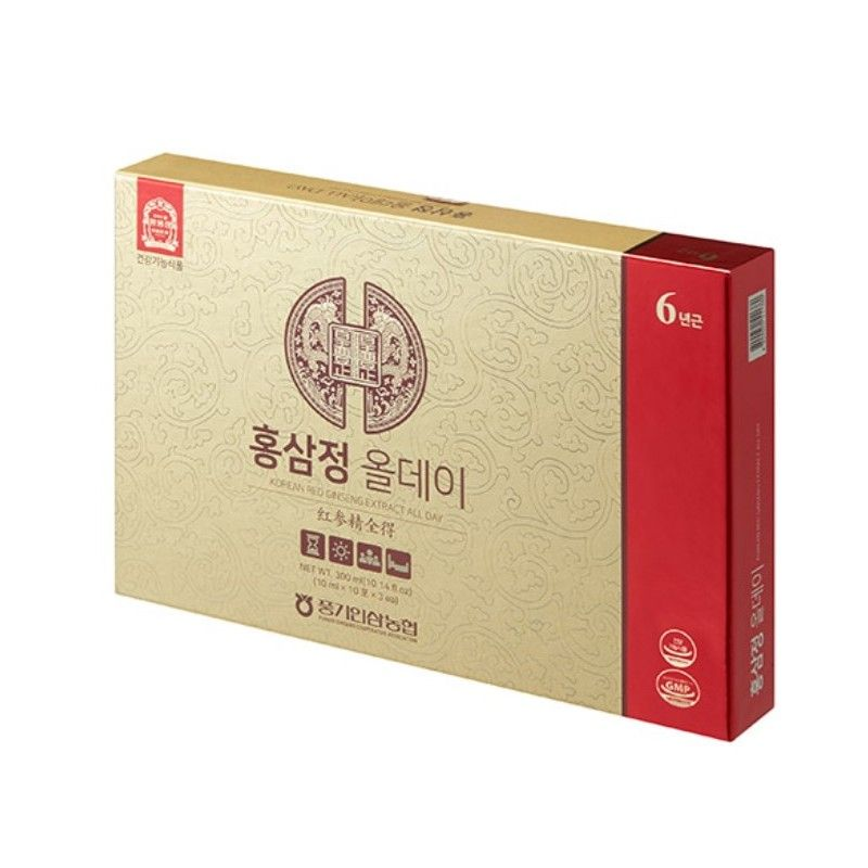 6 Years Punggi Korean Red Ginseng Extract - All Day (10ml / 30PK) - Be Healthy USA
