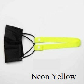 Mask Necklace - Neon Yellow