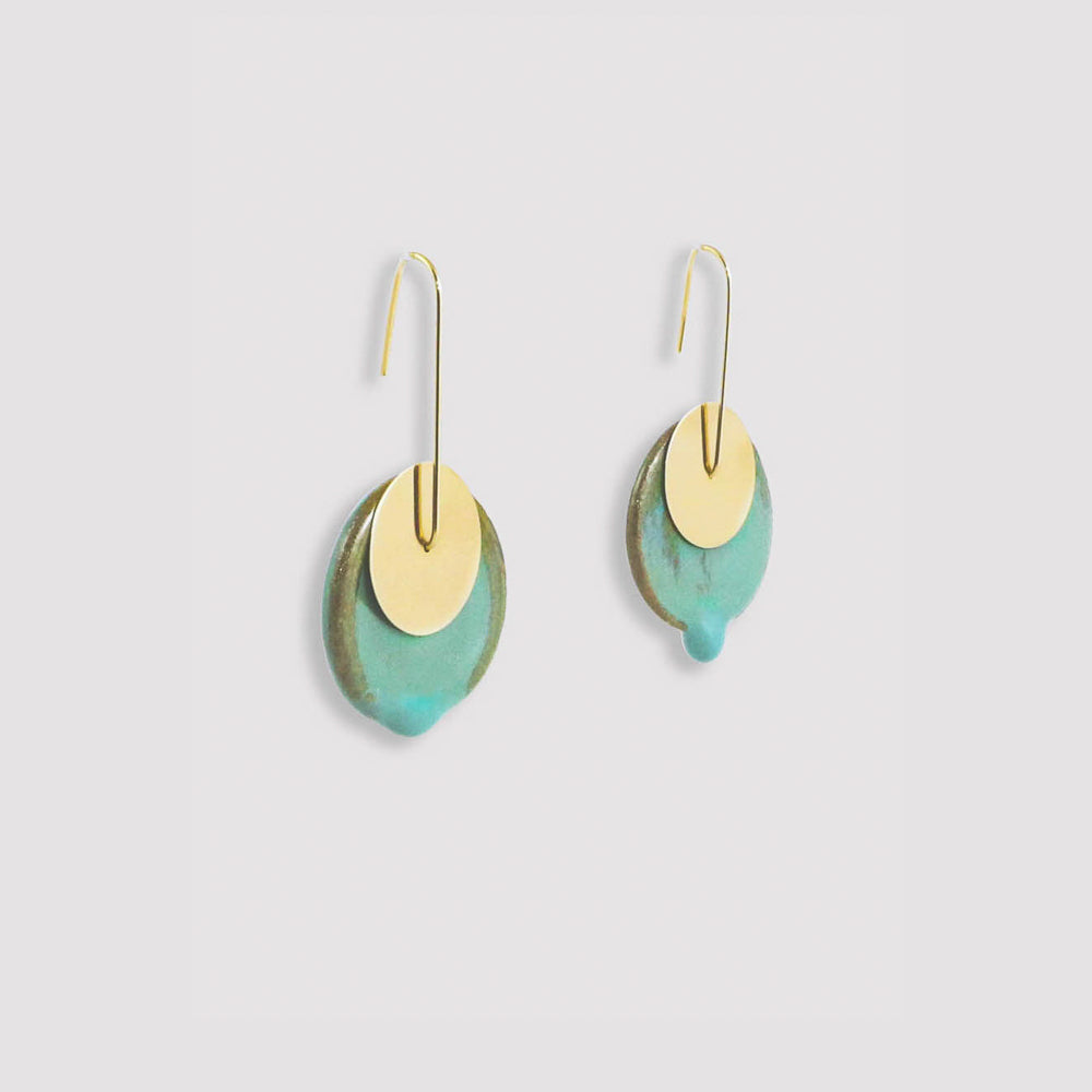 Heloísa Earrings | Green