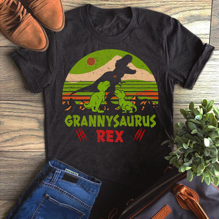 Dinosaur Mamasaurus Rex Mother'S Day Granny Mother's Day Gift Graphic Unisex T Shirt, Sweatshirt, Hoodie Size S - 5XL