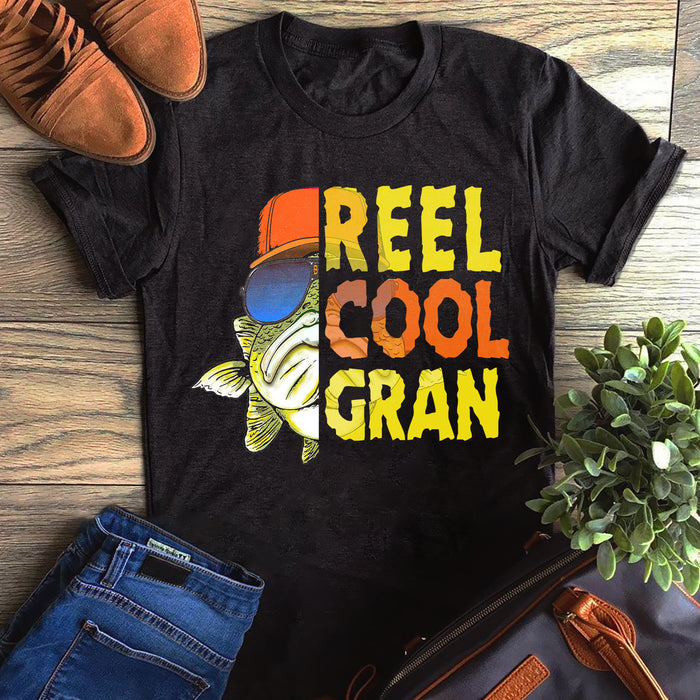 Fishing Reel Cool Grandpa Gran Father's Day Gift, Gift For Dad Graphic Unisex T Shirt, Sweatshirt, Hoodie Size S - 5XL