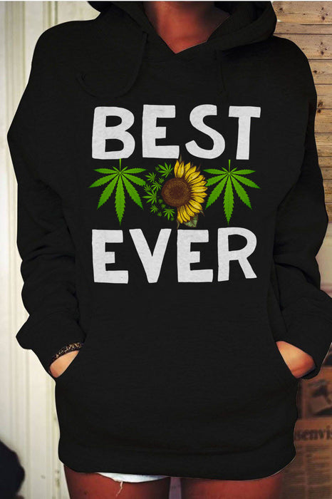 Weed Best Mom Ever Graphic Unisex T Shirt, Sweatshirt, Hoodie Size S - 5XL