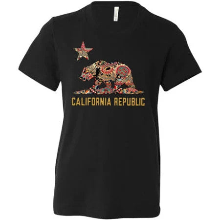 California Golden California Republic Bear Flag Graphic Unisex T Shirt, Sweatshirt, Hoodie Size S - 5XL