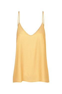 V NECK CAMI GOLD