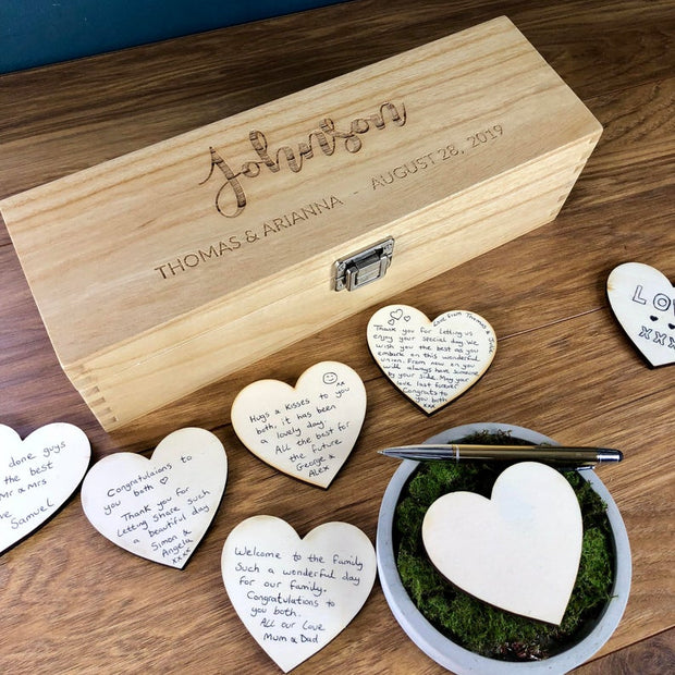 Unique Personalised Wedding Guestbook Alternative