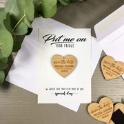 Put Me On Your Fridge' Save the Date Magnet Cards