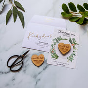 Save the Date Magnet Including Cards - Botanical Card Design