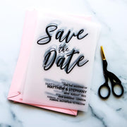 Classic & Modern Save the Date Cards