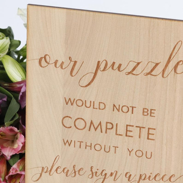 Wedding Guest Book Sign