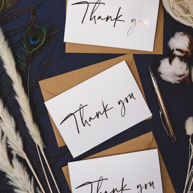 Luxury Thank You Note Cards