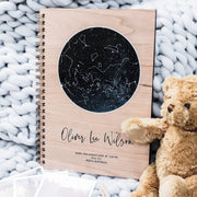 A Star Was Born Personalised Baby Journal