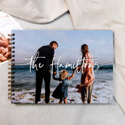 Personalised Wooden Family Memory Book