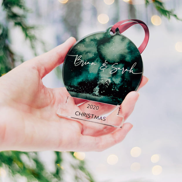 SnowGlobe Mr And Mrs Christmas Gift