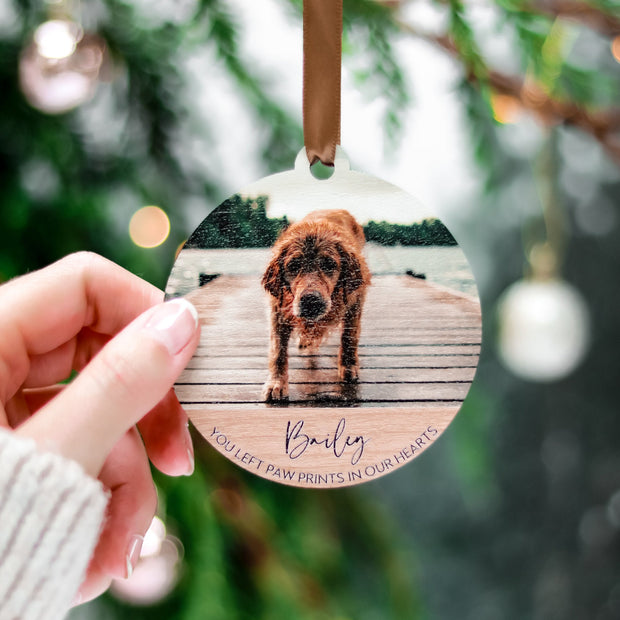 Christmas Pet Memorial Ornament Gift
