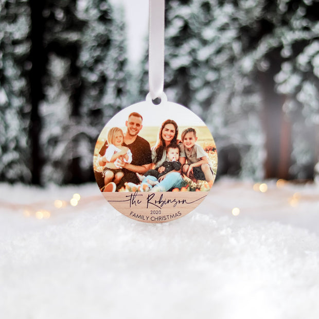 Personalized Family Chrsitmas Ornament