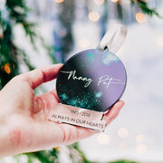 In Loving Memory Christmas Decorations Bauble