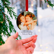 Grandparent Christmas Ornaments Gifts